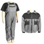 Nohavice a bunda pre deti súprava montérky